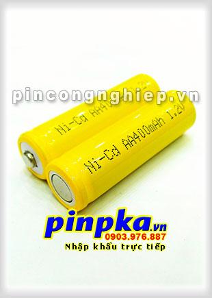 Pin Sạc Công Nghiệp-Pin Cell 1,2v NiCD AA 400mAh